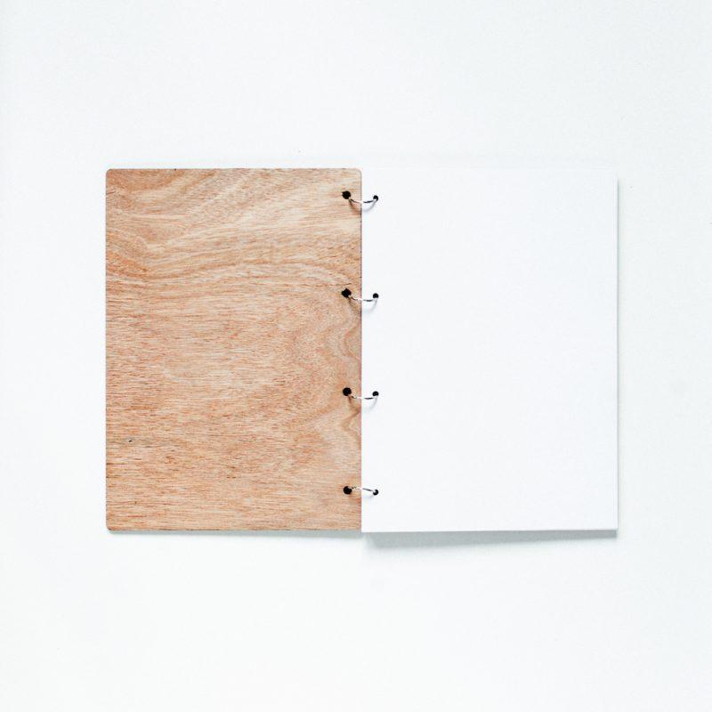 houten gastenboek banner