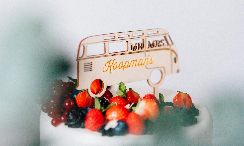 taarttopper volkswagen bus