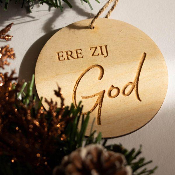 Kerstbal Ere zij God