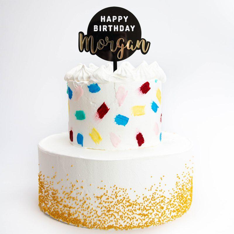 Taarttopper Happy Birthday 3D